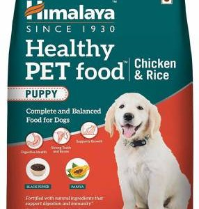 Himalaya UTEKAR FISHERIES Healthy Pet Food Chicken and Rice PUPPY, 3 KG
