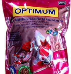 PCG Optimum Highly Nutritious Food For All Aquarium Fish Shrimp 0.5 kg Dry Young, Adult Fish Food