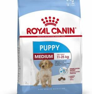 Royal Canin Medium Puppy 4 kg Dry Young Dog Food