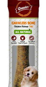 Gnawlers Bone, Chicken, Large