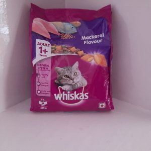 Whiskas ry Cat Food, Mackerel Flavour for Adult Cats (+1 Year) Mackeral, Cat Food