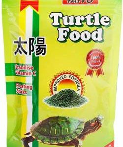 Taiyo TURTLE Food Premium Quality 100 grams with added SPIRULINA 0.1 kg Dry Adult, New Born, Young Turtle Food