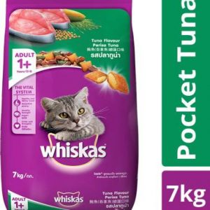 Whiskas Adult (+1 year) Tuna 7 kg Dry Adult Cat Food