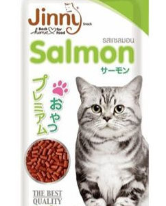 Jinny Salmon Cat Treats